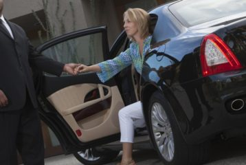 Luxury limousine rides