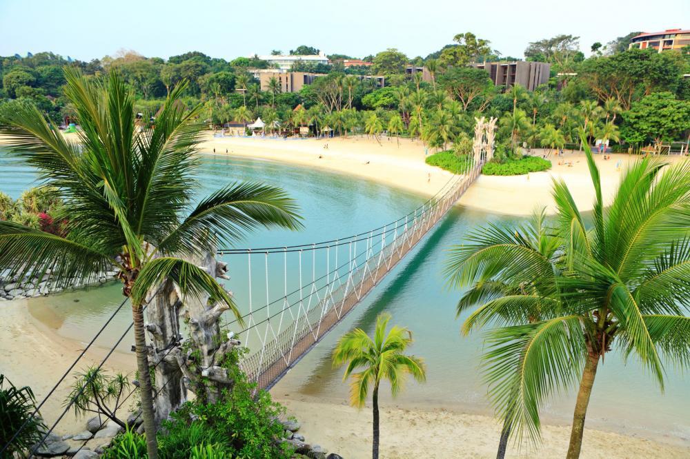 landscape in sentosa singapore